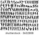 collection of people... | Shutterstock .eps vector #3632808