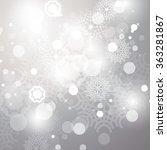 christmas background   vector... | Shutterstock .eps vector #363281867