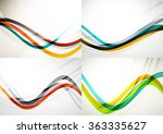 set of abstract backgrounds....