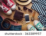 clothing and accessories for... | Shutterstock . vector #363389957