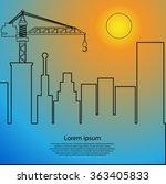 vector template print edition... | Shutterstock .eps vector #363405833