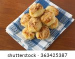 Home Made Cheese Scones On...