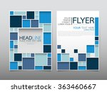 business brochure flyer design... | Shutterstock .eps vector #363460667