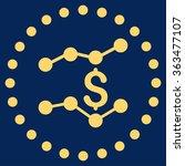 financial trends vector icon.... | Shutterstock .eps vector #363477107