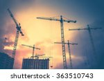 abstract industrial background... | Shutterstock . vector #363510743