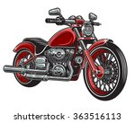 Vector Illustration Of Red...