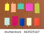 the handmade colorful origami... | Shutterstock . vector #363525167
