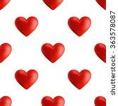 seamless pattern for valentine...   Shutterstock .eps vector #363578087