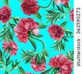 beautiful flowers pattern peony ...   Shutterstock . vector #363590273