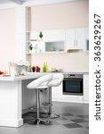 new modern kitchen interior | Shutterstock . vector #363629267