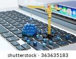 designing  engineering ... | Shutterstock . vector #363635183