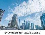 dubai   august 9  2014  dubai... | Shutterstock . vector #363666557