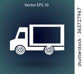 flat van icon