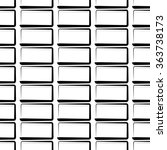 seamless monochrome pattern ... | Shutterstock .eps vector #363738173