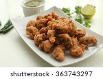 spicy fried lentil balls  ... | Shutterstock . vector #363743297