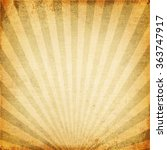 vintage background of sun beam  ... | Shutterstock . vector #363747917