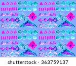 ethnic seamless pattern. ethnic ...   Shutterstock . vector #363759137