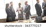 business group meeting... | Shutterstock . vector #363775217