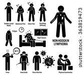 non hodgkin lymphoma lymphatic... | Shutterstock .eps vector #363819473