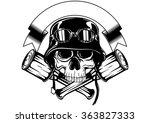 abstract vector illustration...   Shutterstock .eps vector #363827333