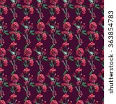 raster seamless pattern with... | Shutterstock . vector #363854783