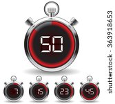 vector timer   easy change time ... | Shutterstock .eps vector #363918653