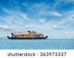 Houseboat In Vembanadu Lake ...