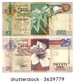 banknotes of seychelles... | Shutterstock . vector #3639779