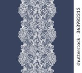 Seamless  Lace  Floral  ...