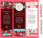 valentine day party invitation... | Shutterstock .eps vector #363982457