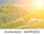 beautiful countryside in... | Shutterstock . vector #363993653