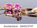 Small photo of Gold ring with alexandrite made by jewelers of the Soviet era