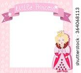 little princess background... | Shutterstock .eps vector #364068113