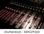 sound control with led backlight | Shutterstock . vector #364129163