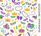 Mardi Gras Seamless Pattern...