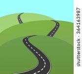 vector abstract illustration of ... | Shutterstock .eps vector #364163987