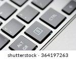 notebook keyboard close up or...   Shutterstock . vector #364197263