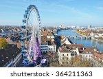 traditional autumn fair in... | Shutterstock . vector #364211363