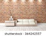 modern bright interior. 3d...   Shutterstock . vector #364242557