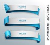 vector banners set. | Shutterstock .eps vector #364245653