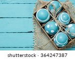easter concept with colorful... | Shutterstock . vector #364247387