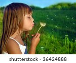 playing on a meadow | Shutterstock . vector #36424888