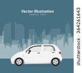car poster   Shutterstock .eps vector #364261643