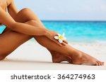 women's beautiful sexy legs on... | Shutterstock . vector #364274963