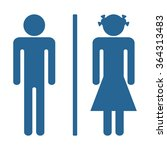 man and woman icon  vector... | Shutterstock .eps vector #364313483
