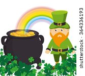 saint patrick day celebration  | Shutterstock .eps vector #364336193