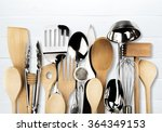 kitchen utensil. | Shutterstock . vector #364349153