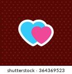 heart. valentine s day icon....