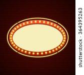 retro showtime sign design.... | Shutterstock .eps vector #364395263