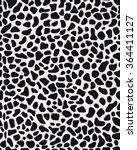 black and white seamless... | Shutterstock .eps vector #364411127